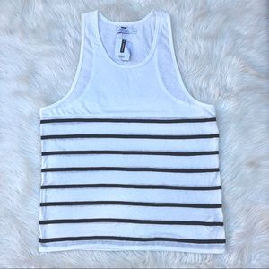 b43f056c3bf70 Topman Shirts - NWT Men s Topman Breton Striped Tank Top L